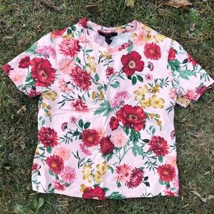 🌺🌹🌸 F21 Floral Tee